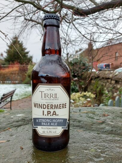 bottle of Windermere IPA