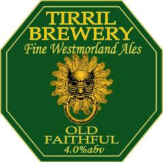 Tirril Brewery Old Faithful Pump Clip
