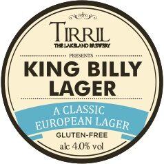 Tirril King Billy Lager font lens (round)