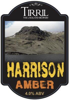 Tirril Harrison Amber pump clip (foamex)