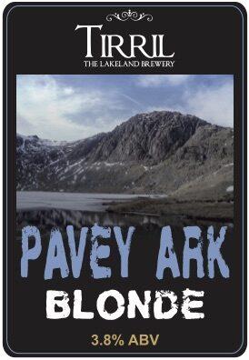 Tirril Pavey Ark Blonde pump clip