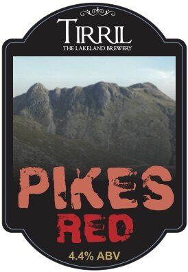 Tirril Pikes Red pump clip (foamex)