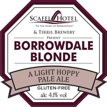 Borrowdale Blonde pump clip