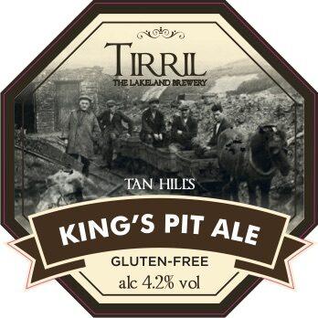 King's Pit ale pump clip Final version