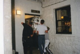 Installation of brewery at Queen's Head Tirril in 1999
