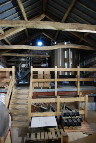 inside Tirril Brewery at Red House Barn